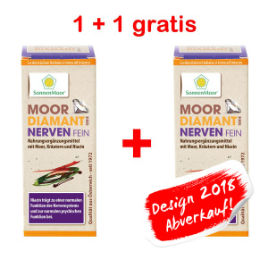 Moor Diamant NERVENfein Tabletten 1 + 1 Aktion
