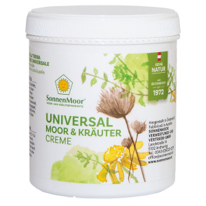 Universal Moorcreme und Kräutercreme 500g