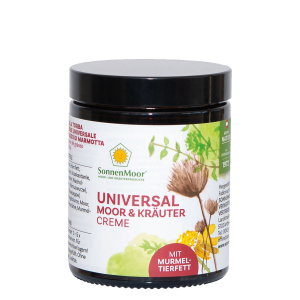 Universal Moor und Kräutercreme mit Murmeltierfett 140 g