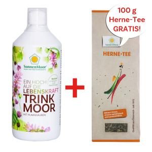 Trinkmoor 1l + gratis Herne-Tee 100g