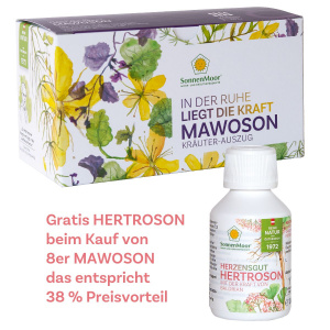 Mawoson 8er mit gratis Hertroson